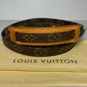 Louis Vuitton Vintage Crossbody Strap Authentic